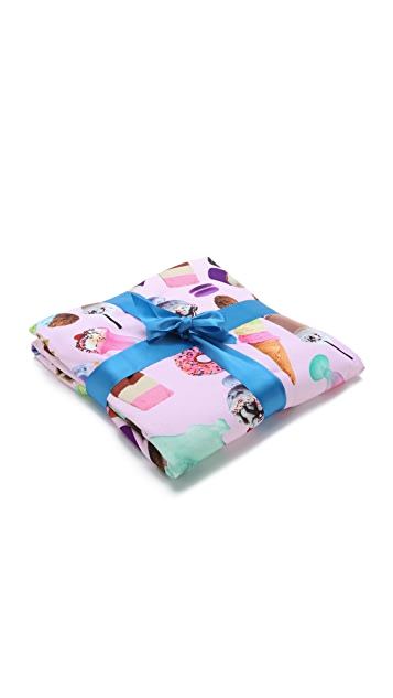 Gift Boutique Sweet Tooth Sherpa Blanket