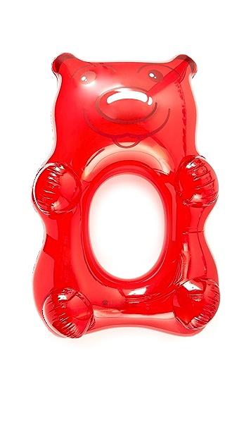 Gift Boutique 超大红色橡胶熊浮舟