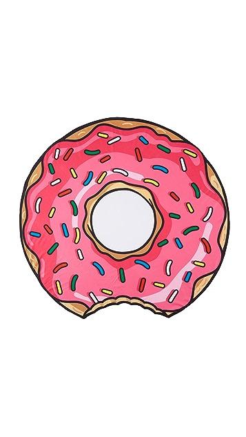Gift Boutique Gigantic Pink Donut Beach Blanket
