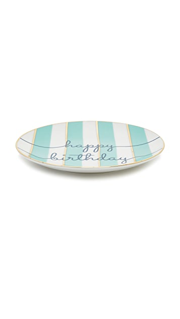 Gift Boutique Happy Birthday Plates