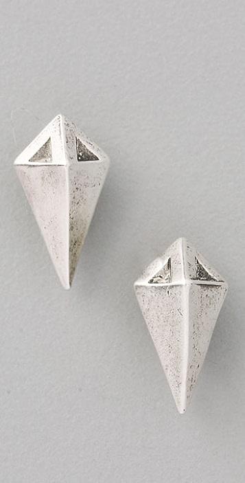 Giles & Brother Stake Stud Earrings