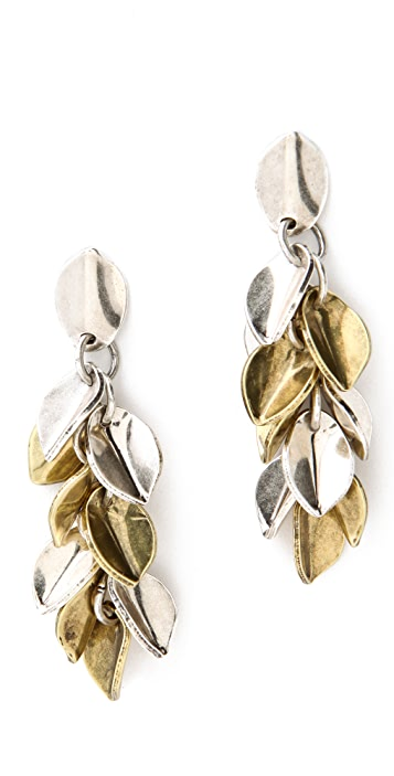 Giles & Brother Wheat Petal Earrings