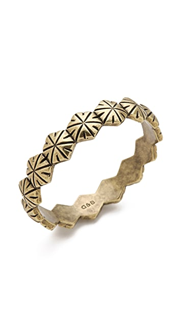 Giles & Brother Hippolyta Textured Bangle