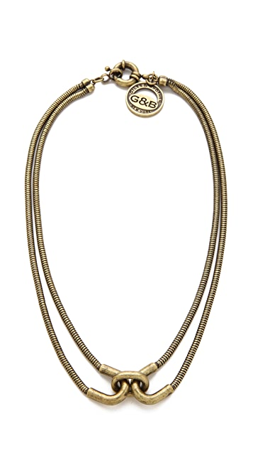 Giles & Brother Double Cortina Necklace