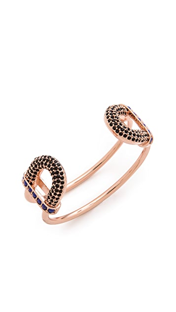 Giles & Brother Skinny Encrusted Cortina Cuff