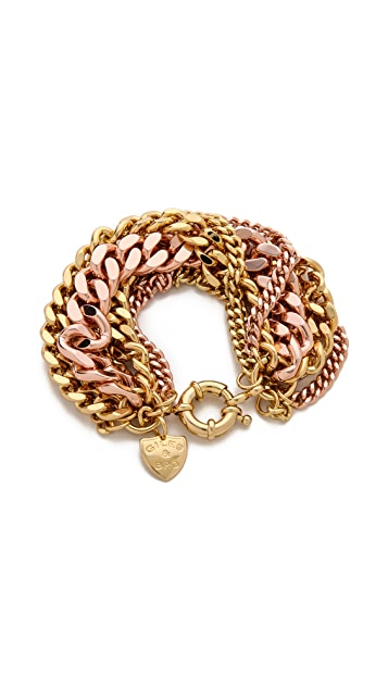 Giles & Brother Multi Chain Bracelet