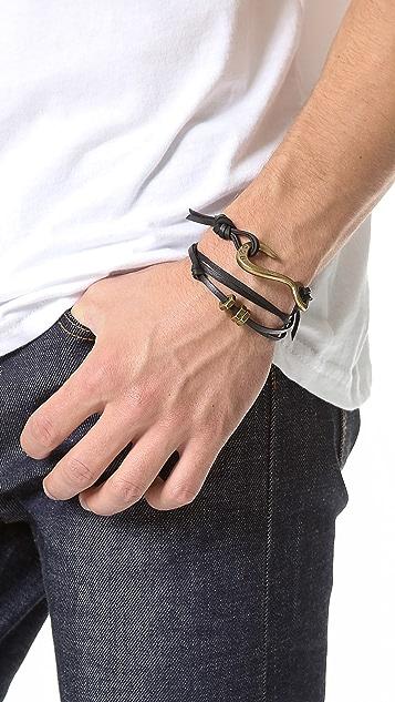 Giles & Brother Lash Hook Wrap Bracelet