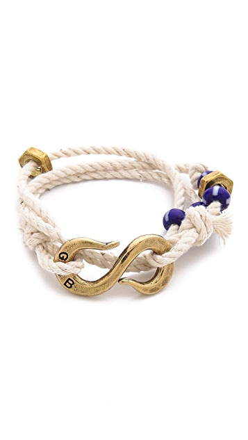 Giles & Brother S Hook Wrap Bracelet