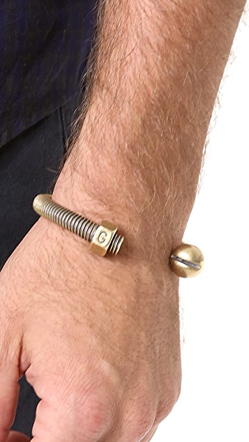 Giles & Brother Nut & Bolt Cuff
