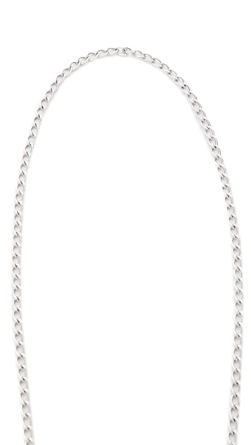 Giles & Brother Embedded Safety Pin Necklace