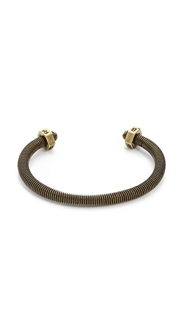 Giles & Brother Skinny Double Nut Cuff
