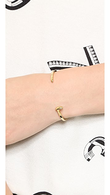 Giles & Brother Mini Railroad Spike Cuff Bracelet