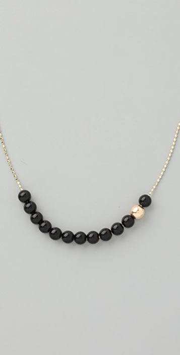 ginette_ny Black Moon Short Necklace