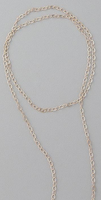 ginette_ny Amazonite Lariat Necklace