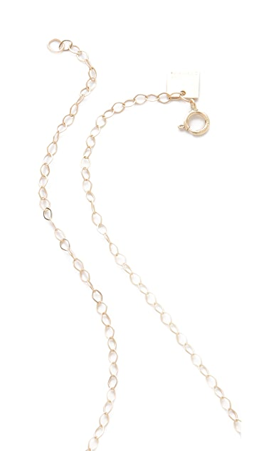 ginette_ny Double Circle Necklace