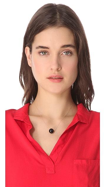 ginette_ny Black Moon Onyx Necklace