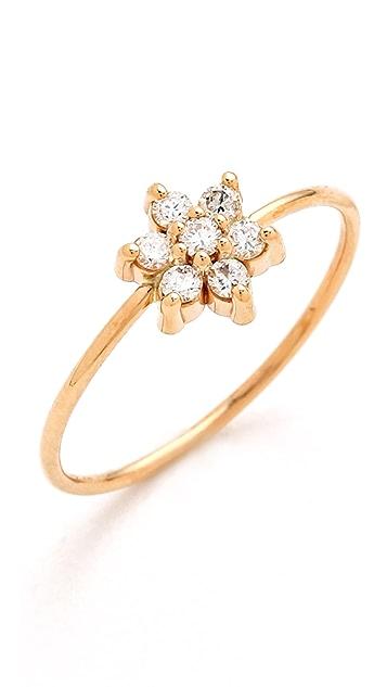 ginette_ny Diamond Star Ring