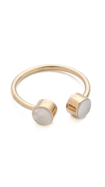 ginette_ny Mother of Pearl Double Ring