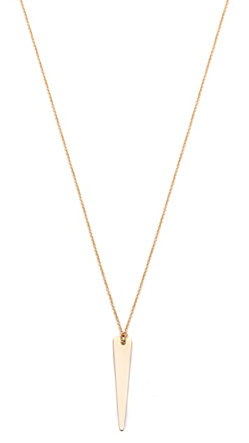 ginette_ny Mini Arrow Necklace