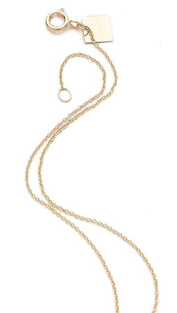 ginette_ny Turquoise Lotus Necklace