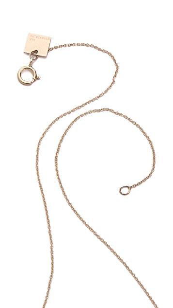ginette_ny Short Boulier Necklace