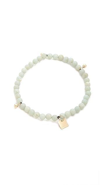 ginette_ny Elastic Amazonite Bracelet