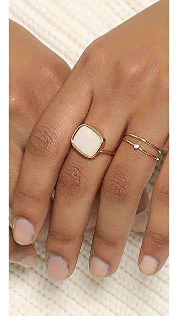 ginette_ny Antiqued Ring