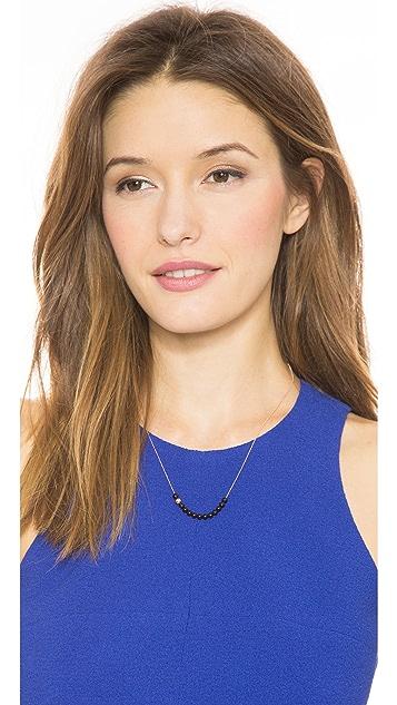 ginette_ny Black Moon Onyx Boulier Necklace