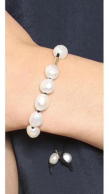 ginette_ny Pearl Cotton Bracelet