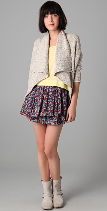 Girl. by Band of Outsiders Short Gathered Skirt