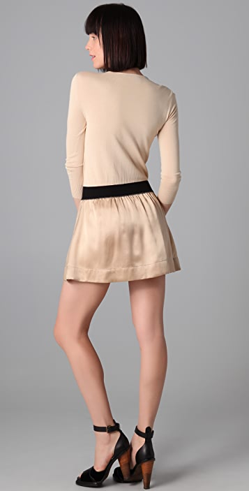 Girl. by Band of Outsiders Crew Neck Dress
