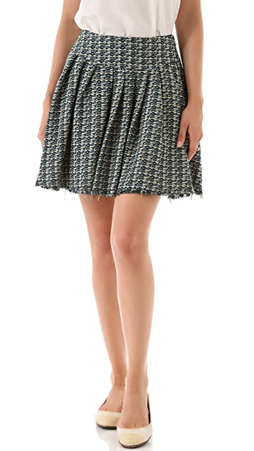 Girl. by Band of Outsiders Tweed Skirt