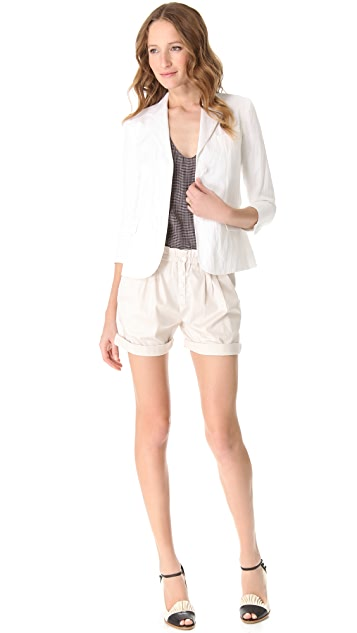 Girl. by Band of Outsiders Paper Bag Shorts