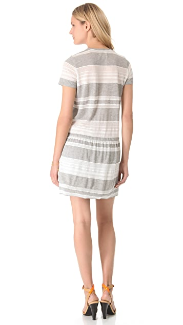 Girl. by Band of Outsiders Lace T-Shirt Dress