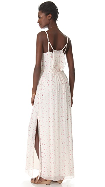 Girl. by Band of Outsiders Little Iris Strappy Shut Dress
