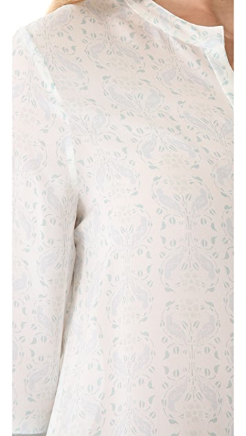 Girl. by Band of Outsiders Bird Nouveau Blouse