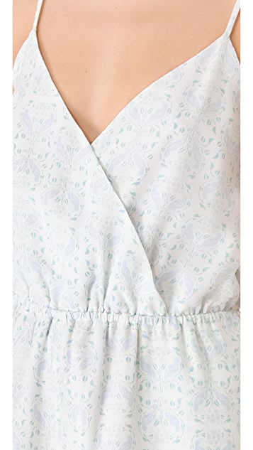 Girl. by Band of Outsiders Bird Nouveau Romper