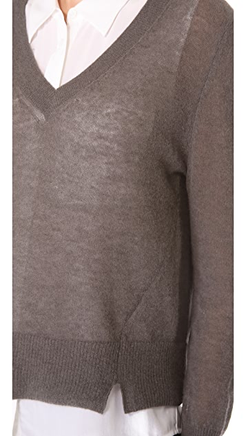 Girl. by Band of Outsiders Boxy Sweater