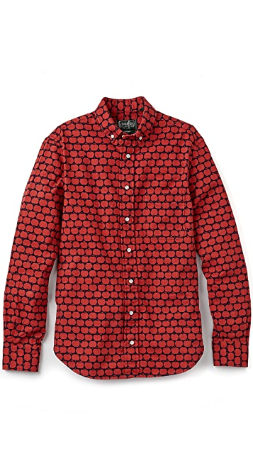 Gitman Vintage Red Apple Shirt
