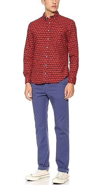 Gitman Vintage Red Apple Shirt