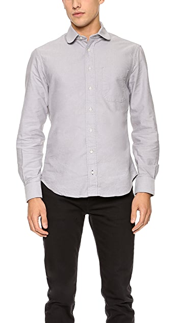 Gitman Vintage Club Collar Oxford Shirt