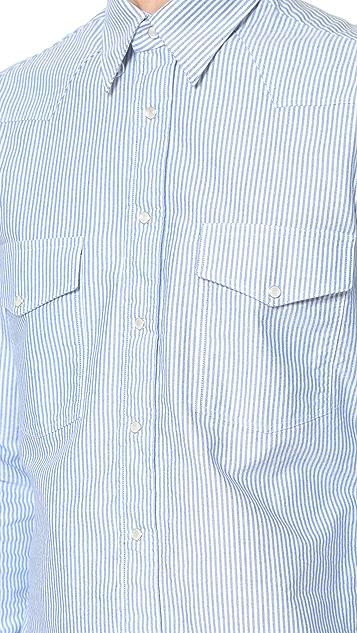 Gitman Vintage Striped Oxford Western Shirt