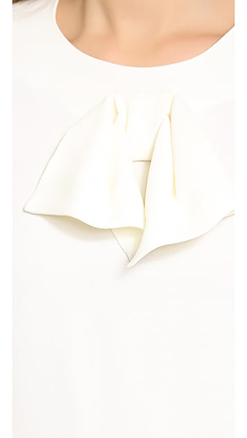 Giulietta Simple Blouse with Bow
