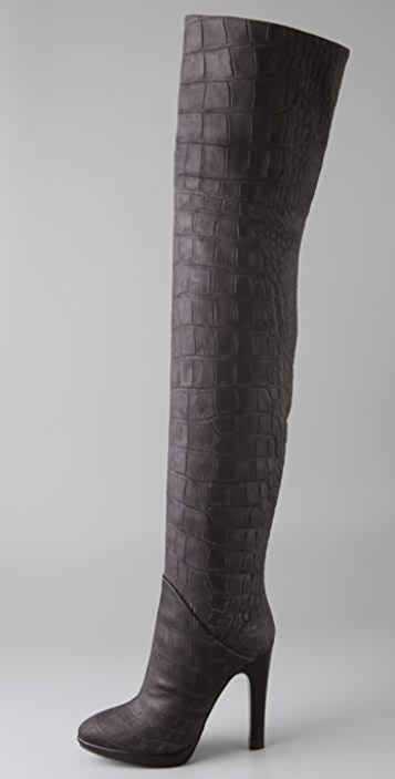 Giuseppe Zanotti Embossed Over-The-Knee Boots clearance outlet store free shipping best sale discount recommend buy cheap store jToqteP