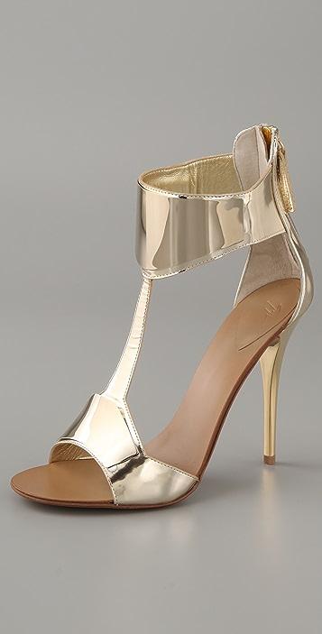 Giuseppe Zanotti Mirror Cuff Sandals