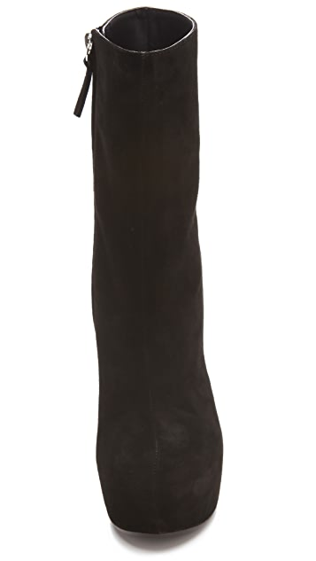 Giuseppe Zanotti Sculptural High Wedge Boots