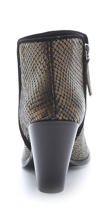 Giuseppe Zanotti Mixed Texture Booties