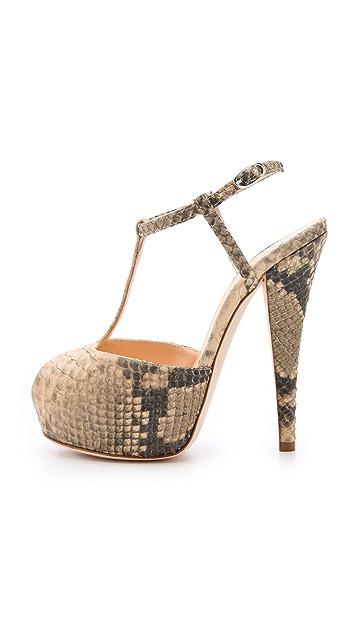 Giuseppe Zanotti Monro T Strap Sandals