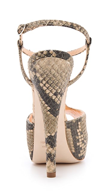 Giuseppe Zanotti Monro T Strap Sandals