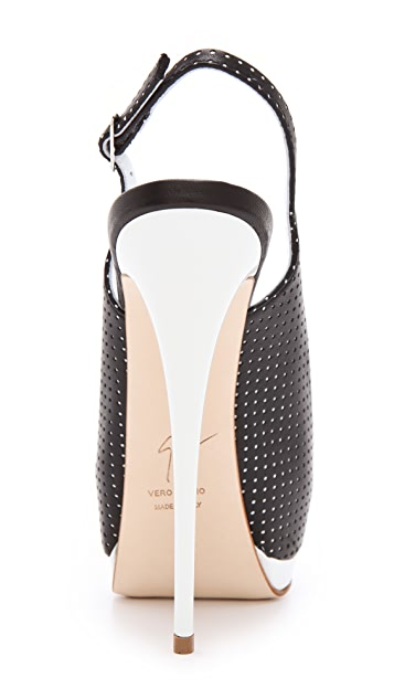 Giuseppe Zanotti Sharon Perforated Pumps